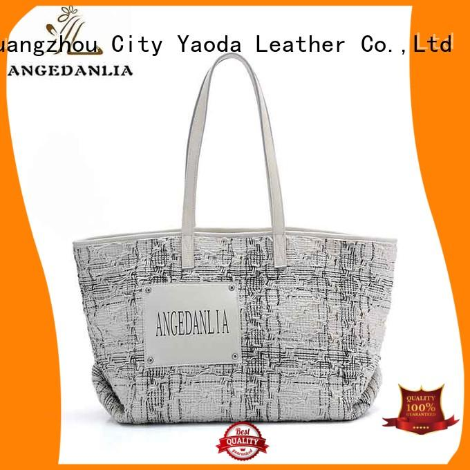 ANGEDANLIA fashion cool canvas tote bags on sale for lady