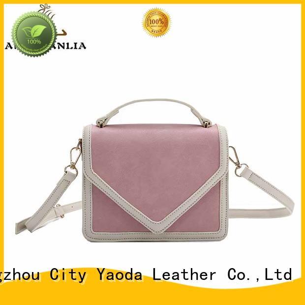 Wholesale crossbody leather crossbody bag ANGEDANLIA Brand
