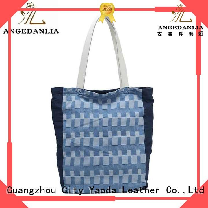 ANGEDANLIA canvas large canvas tote bags on sale for travel