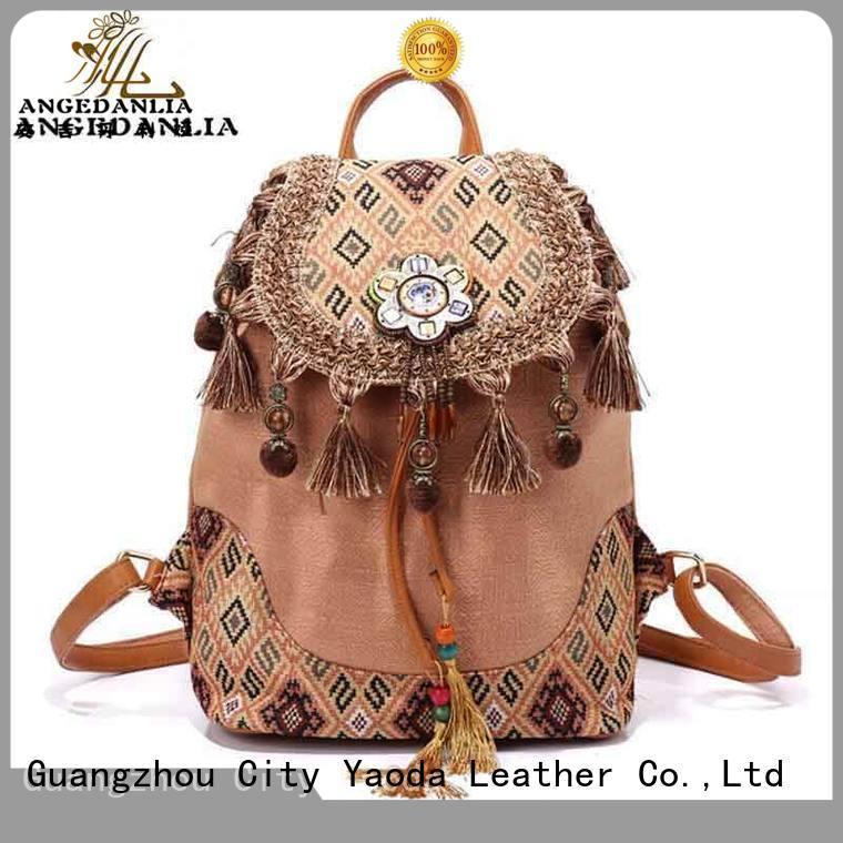 ANGEDANLIA clutch crochet boho bag wholesale for girls