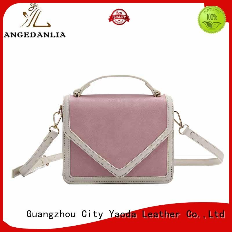 ANGEDANLIA generous pu tote bag on sale for date
