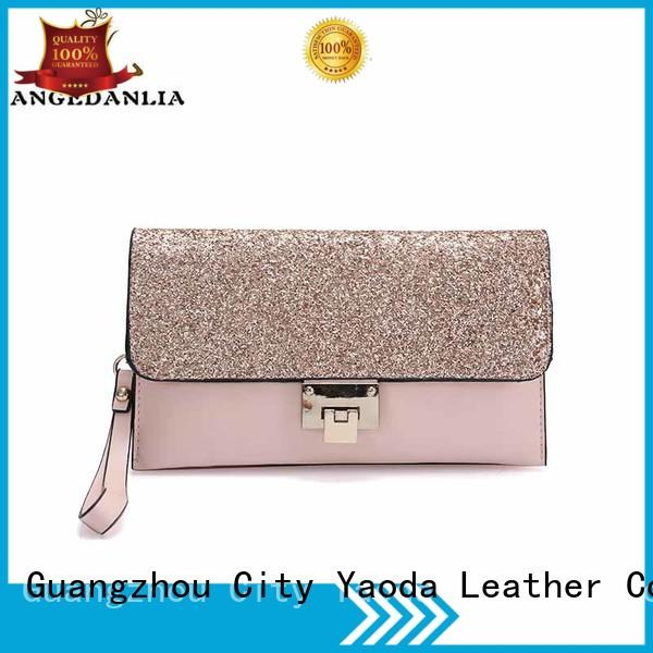 Wholesale chain handbag leather crossbody bag ANGEDANLIA Brand