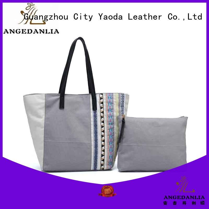 casual personalized canvas tote bags cross Chinese for shopping