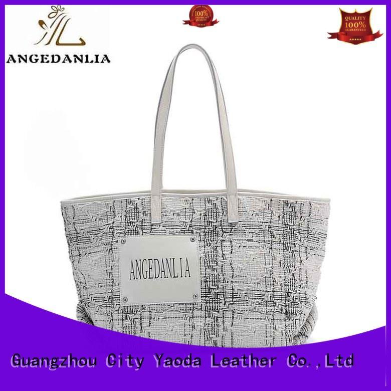 Wholesale genuine handbag canvas tote bags ANGEDANLIA Brand