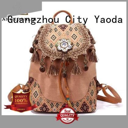 bohemian tote bag backpack handbags clutch ANGEDANLIA Brand