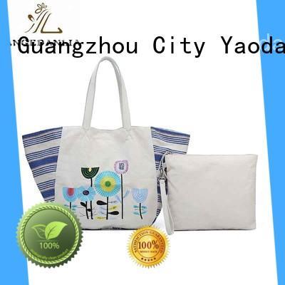 ANGEDANLIA fashion canvas bag brand Chinese for shopping