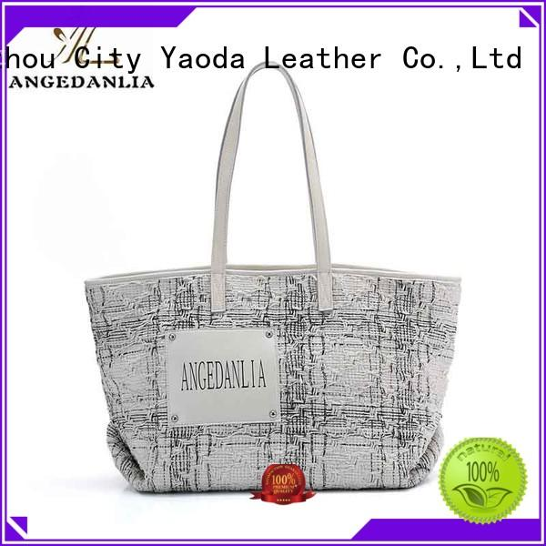 ANGEDANLIA customized canvas laptop bag online for daily life