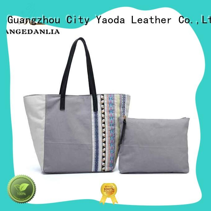 ANGEDANLIA popular canvas bag Chinese for daily life