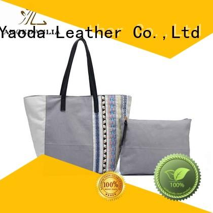 ANGEDANLIA popular canvas messenger bag Chinese for daily life