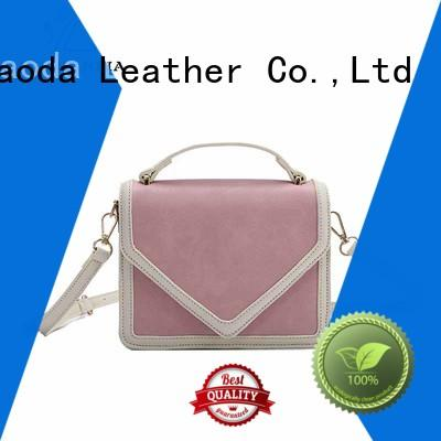elegant pu leather bag manufacturer for daily life
