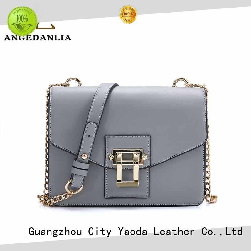 ANGEDANLIA single womens leather tote bag online for women