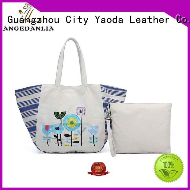 customized black canvas bag latest Chinese for daily life