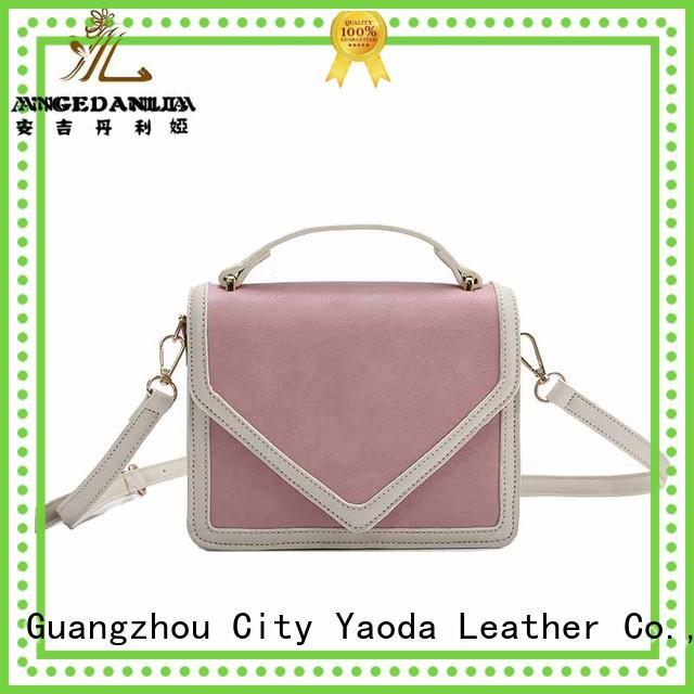 ANGEDANLIA fashion pu leather handbags online for travel