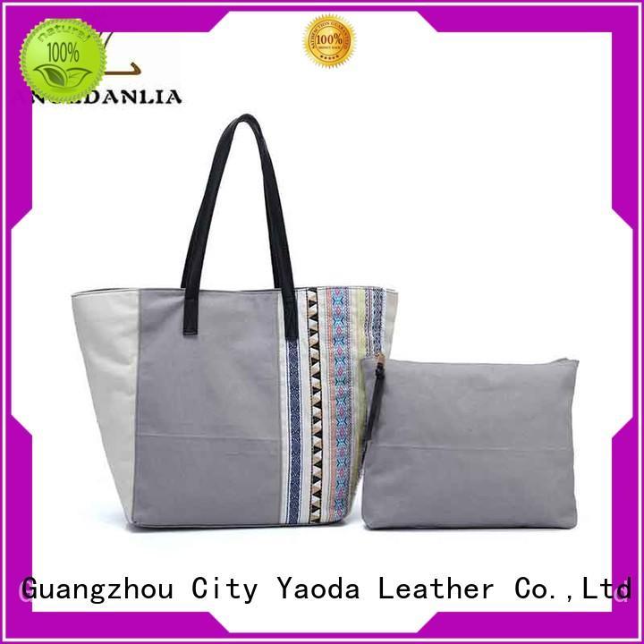 handbags utility bag crossbody ANGEDANLIA Brand canvas tote bags supplier