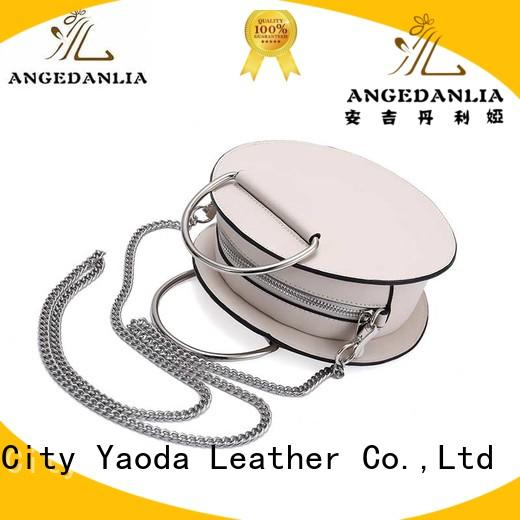 ANGEDANLIA fashion pu tote bag online for date