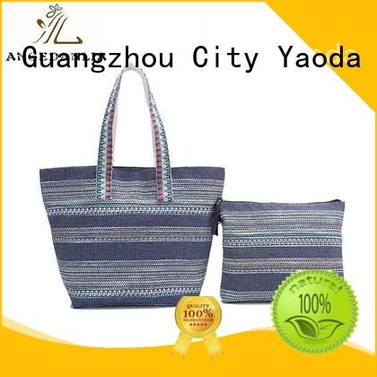 ANGEDANLIA promotion canvas shoulder bag Chinese for travel