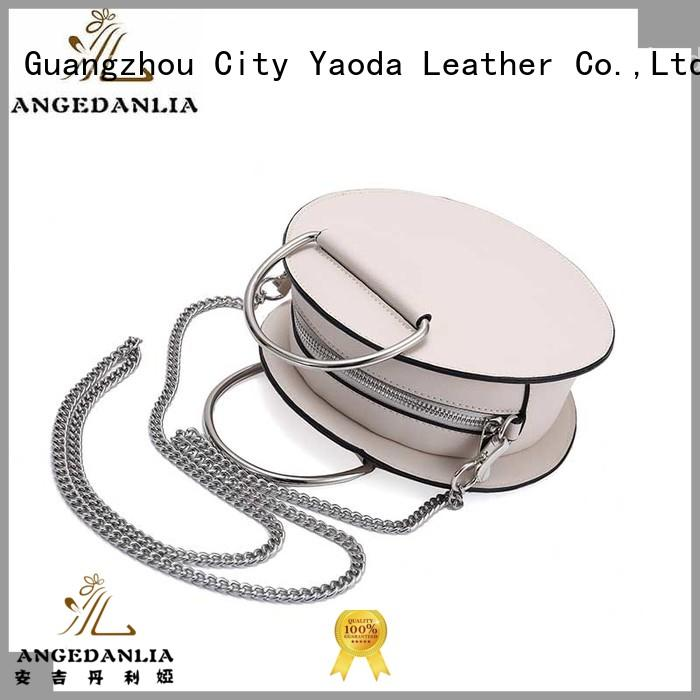 ANGEDANLIA shine pu leather bag for sale for date