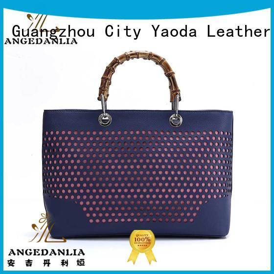 litchi leather crossbody bag single for travel ANGEDANLIA