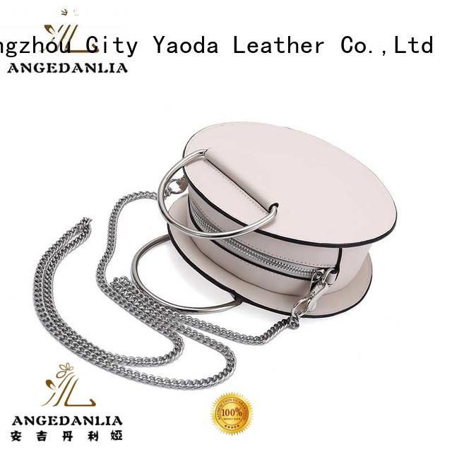leather weekend bag envelop fashion leather crossbody bag ANGEDANLIA Brand
