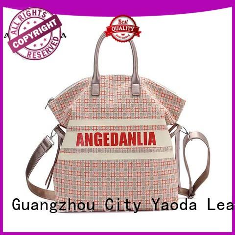 ANGEDANLIA lady large canvas tote bags Chinese for travel