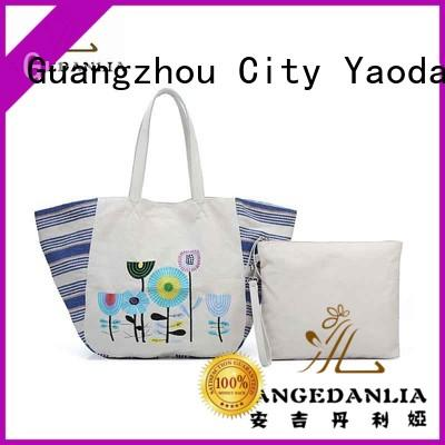 ANGEDANLIA yw4935 personalized canvas tote bags online for travel