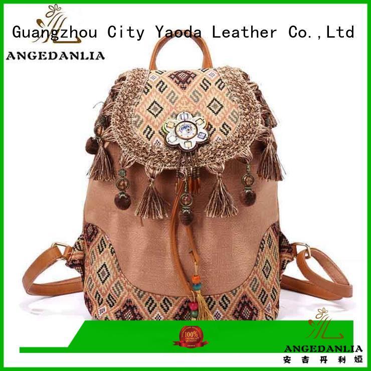 ANGEDANLIA women bohemian handbag supplier for women