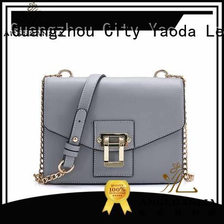 crossbody leather handbags sale single for school ANGEDANLIA