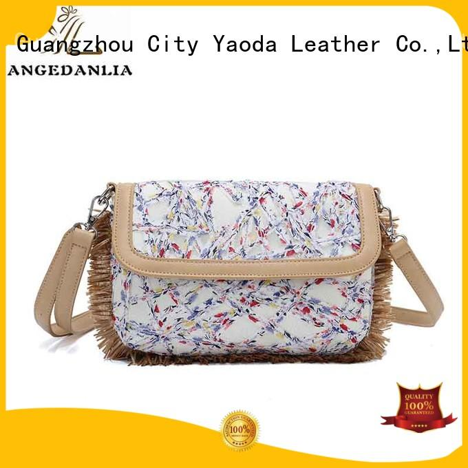 Wholesale yw4935 large canvas tote bags ANGEDANLIA Brand