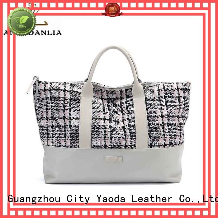 ANGEDANLIA customized canvas bag printing on sale for travel