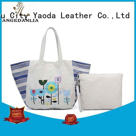 ANGEDANLIA Brand leisure printed custom canvas bag design