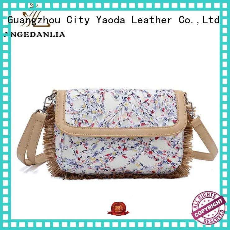 ANGEDANLIA fashion personalized canvas tote bags with zipper for daily life