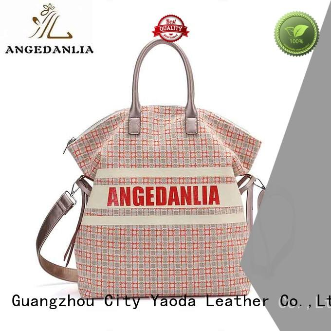 unique black canvas tote bag promotional Chinese for travel