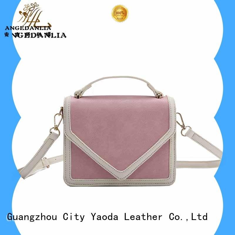 ANGEDANLIA small pure leather purse manufacturer for school