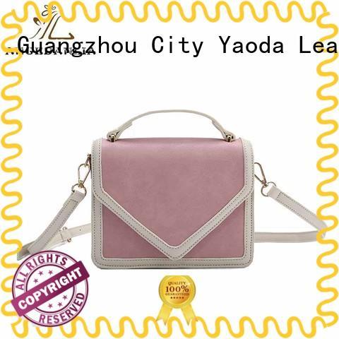 ANGEDANLIA vintage pu clutch bag woolen for travel