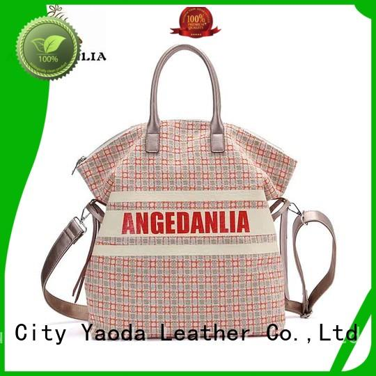 unique ladies canvas bag clutch Chinese for daily life