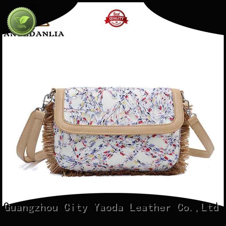 ANGEDANLIA Brand natural utility custom canvas bag design