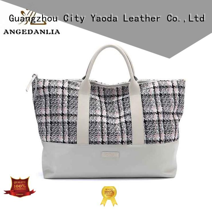 promotion small canvas bags womens for shopping ANGEDANLIA