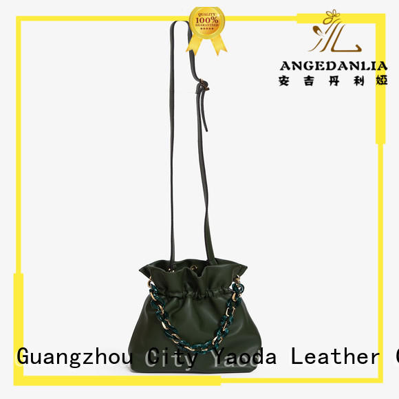 ANGEDANLIA package leather crossbody bag manufacturer for date