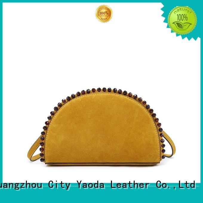 ANGEDANLIA simple leather crossbody bag on sale for daily life