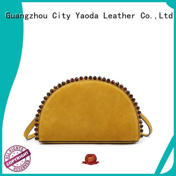 ANGEDANLIA flannel pu material bag online for date