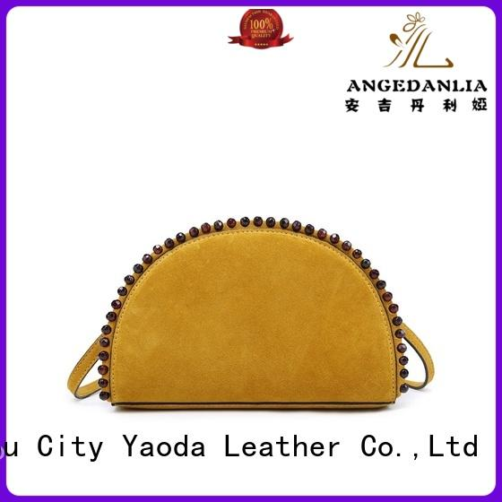 ANGEDANLIA fashion pu leather bag online for school