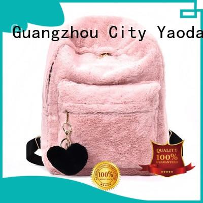 ANGEDANLIA elegant quality leather handbags manufacturer for school
