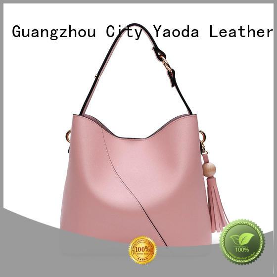 purple leather handbags big for school ANGEDANLIA