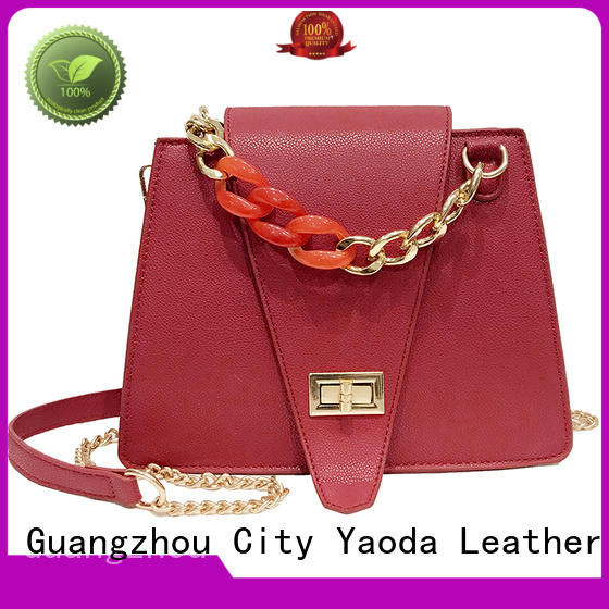 ANGEDANLIA simple leather travel bag supplier for women