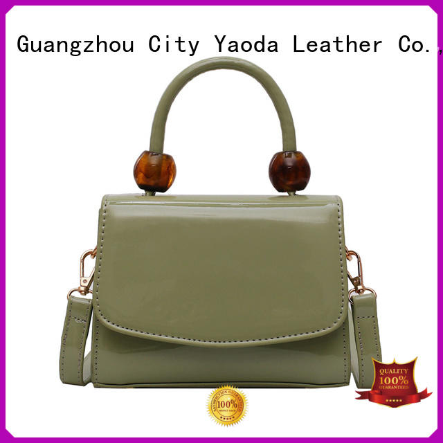 ANGEDANLIA chain pu leather handbags for sale for date