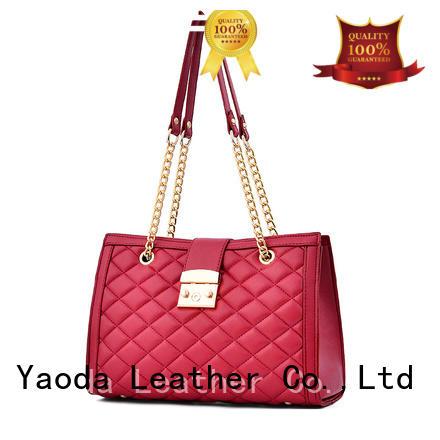 ANGEDANLIA vintage small leather handbag supplier for school