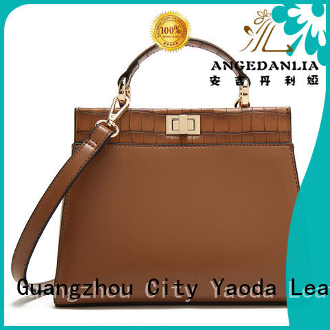 ANGEDANLIA best leather bag price for sale for women