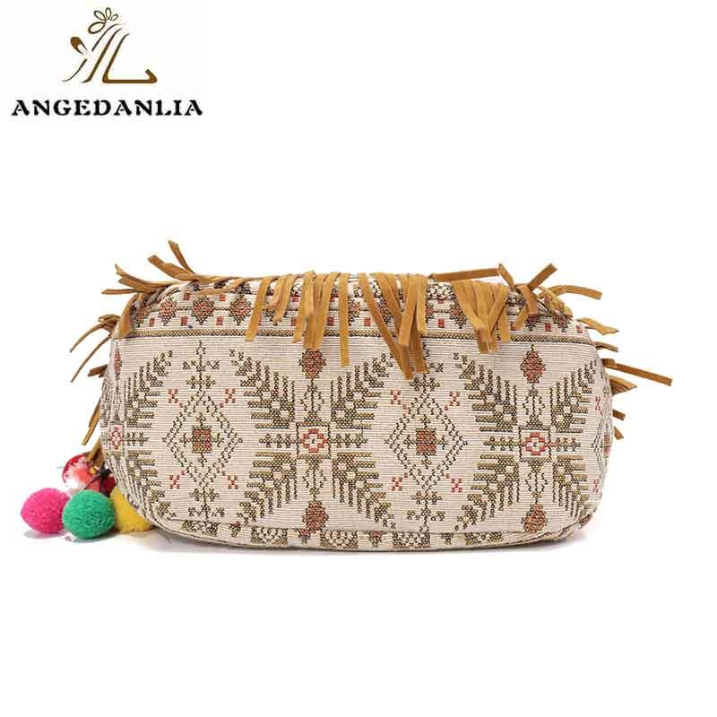 pu small vintage travel ANGEDANLIA Brand boho bags supplier