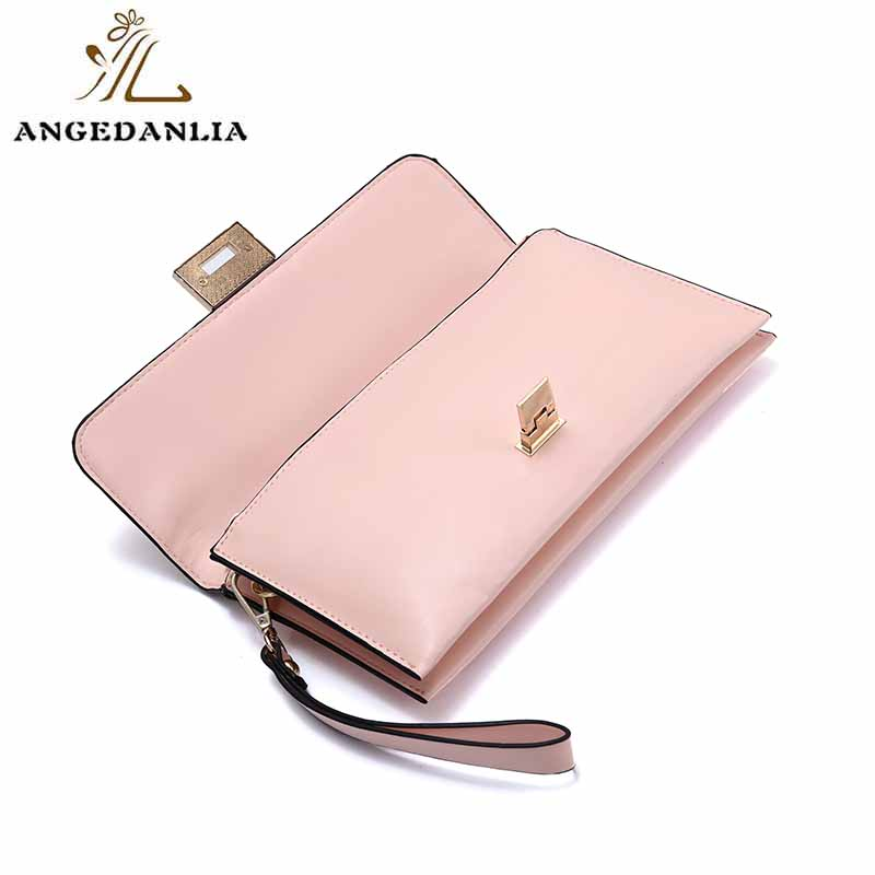 Shine powder women and ladies envelope clutch bag tote handbag bag-5