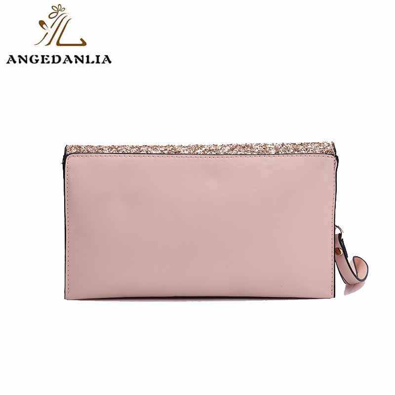 Shine powder women and ladies envelope clutch bag tote handbag bag-6